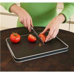 Доска разделочная для мяса Cut&Carve™ Plus двухсторонняя малая черная