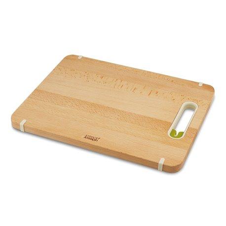 Доска разделочная с ножеточкой Slice & Sharpen™ деревянная большая