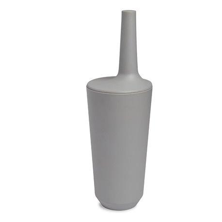 Ершик туалетный Fiboo серый