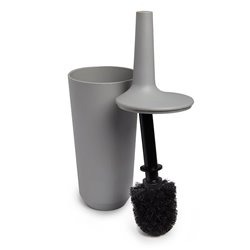 Ершик туалетный Fiboo серый, Umbra