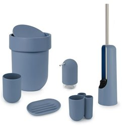 Ершик туалетный Umbra Touch дымчато-синий