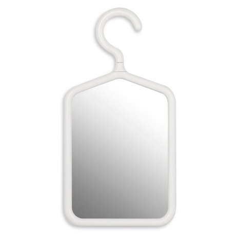Зеркало с вешалкой Umbra белое