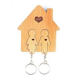 Ключница «Мальчик и девочка»
