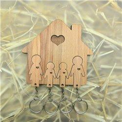Ключница «Семья с двумя сыновьями», Mimi