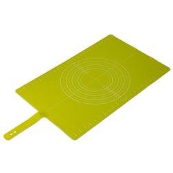 Коврик для теста с мерными делениями Roll-up зеленый, Joseph Joseph