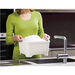 Контейнер для мытья посуды Wash&Drain™ зеленый, Joseph Joseph