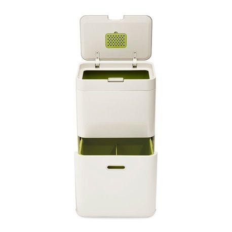 Контейнер для сортировки мусора Totem 48 л белый