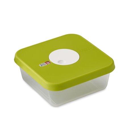 Контейнер для хранения продуктов датируемый Dial квадратный 1,2 л