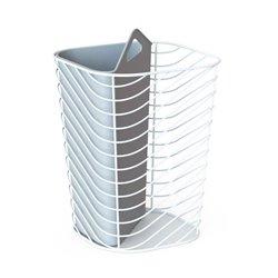 Контейнер мусорный Umbra Couplet серый