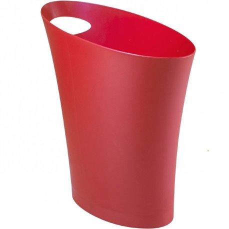 Контейнер мусорный Skinny красный