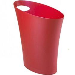 Контейнер мусорный Skinny мини красный