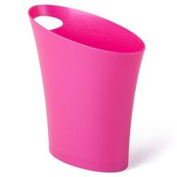 Контейнер мусорный Skinny мини розовый