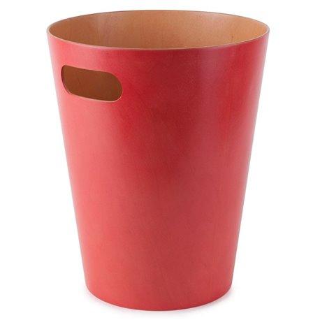 Контейнер мусорный Woodrow красный