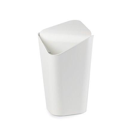 Корзина для мусора CORNER MINI белый
