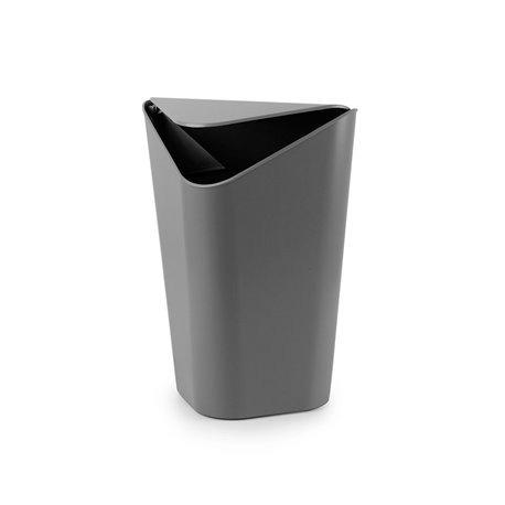 Корзина для мусора CORNER MINI серый