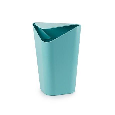 Корзина для мусора CORNER MINI ярко-голубой