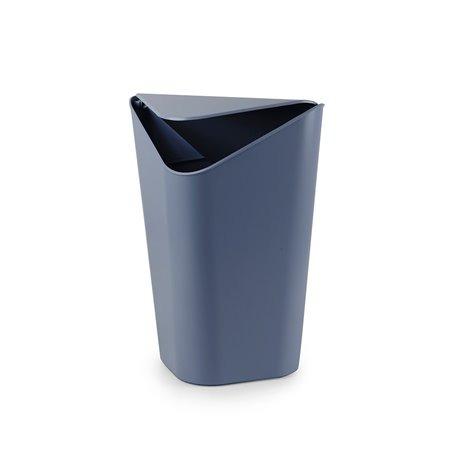 Корзина для мусора CORNER дымчато-синий