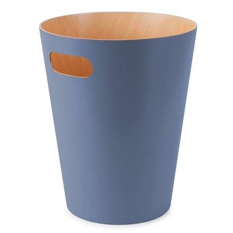 Корзина для мусора Umbra Woodrow дымчато-синий
