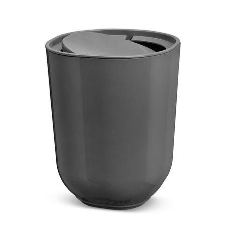 Корзина для мусора с крышкой Umbra Step серый