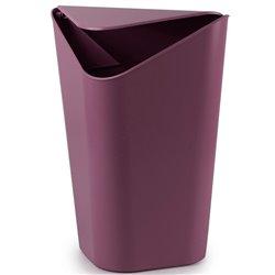 Корзина для мусора угловая Corner баклажановая, Umbra