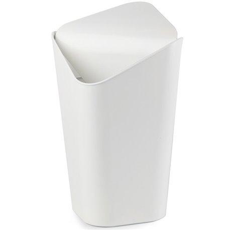 Корзина для мусора угловая Corner белая