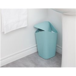 Корзина для мусора угловая Corner голубая