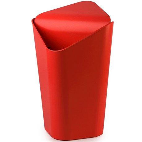 Корзина для мусора угловая Corner красная