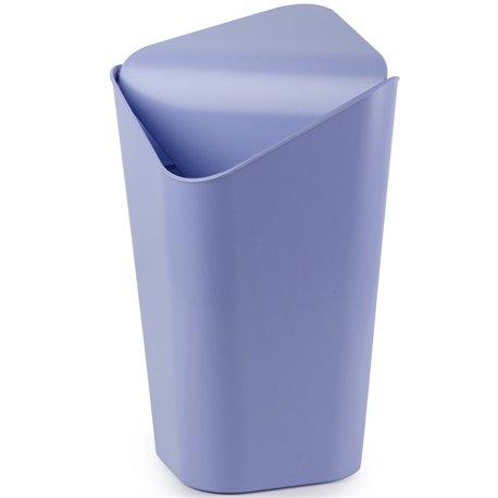 Корзина для мусора угловая Corner лавандовая