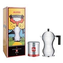 Кофеварка для эспрессо Pulcina красная 300 мл