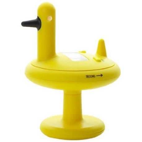 Кухонный таймер Alessi Duck желтый