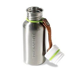 Фляга Water Bottle 500 мл сталь-лайм, Black+Blum