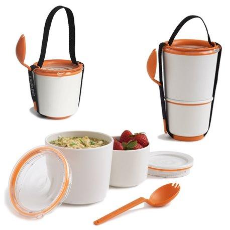 Ланч-бокс lunch pot оранжевый