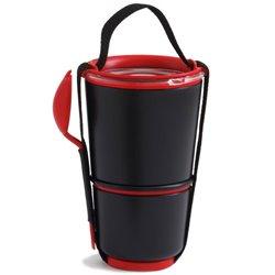 Ланч бокс Lunch Pot черный, Black+Blum