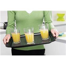 Поднос для сервировки Grip Tray средний черный
