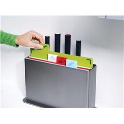 Набор разделочных досок с ножами Index™ Advance серебристый