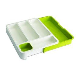 Органайзер для столовых приборов DrawerStore™ белый/зеленый