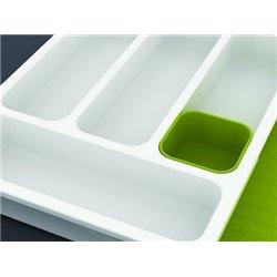 Органайзер для столовых приборов DrawerStore™ белый/зеленый, Joseph Joseph