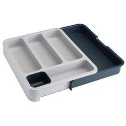 Органайзер для столовых приборов DrawerStore раздвижной серый, Joseph Joseph