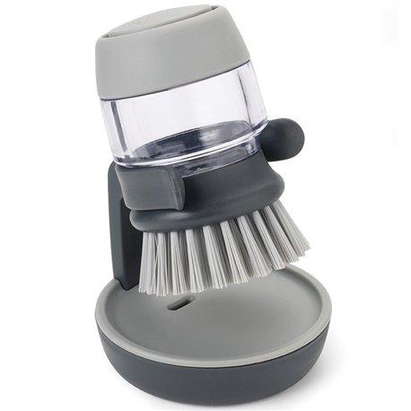 Щетка с дозатором моющего средства Palm Scrub™ серая