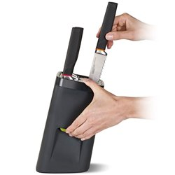Набор ножей в подставке с механизмом автоблокировки LockBlock