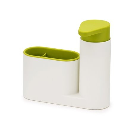 Органайзер для раковины с дозатором для мыла sinkbase белый/зеленый
