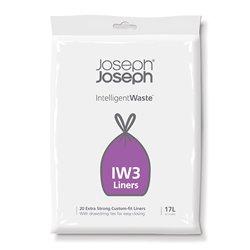 Пакеты для мусора Iw3 17л (20 шт.), Joseph Joseph