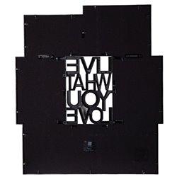 Панно для фотографий Motto черное, Umbra