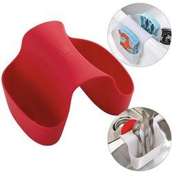 Органайзер для раковины saddle красный