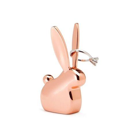 Подставка для колец anigram кролик медь