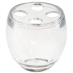 Стакан для зубных щеток Droplet прозрачный, Umbra