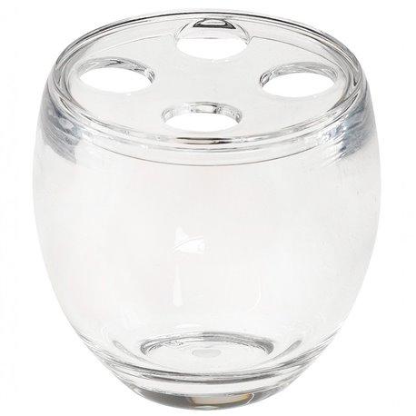 Стакан для зубных щеток Droplet прозрачный