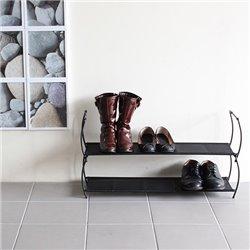 Полка для обуви Imelda черная, Umbra