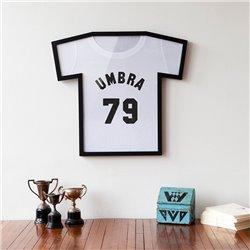 Рамка для футболки T-Frame черная, Umbra