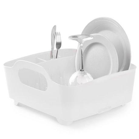 Сушилка для посуды Tub белая